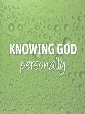 Knowing God Personally 25 Pack