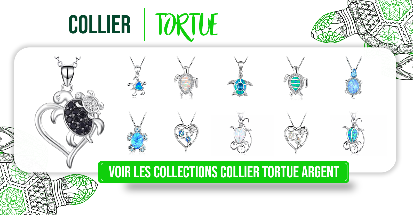 colliers-tortue