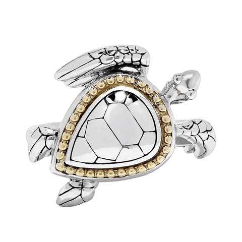Bague Tortue Protection