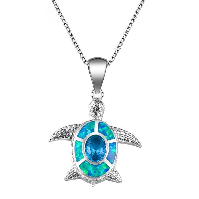 Collier cou Tortue Carapace