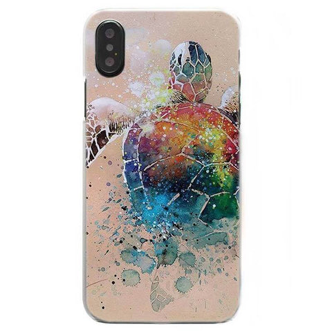 Protection iPhone Tortue Couleur
