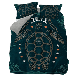 Housse de Duvet Tortue Protection