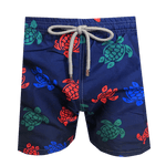 Short de Bain Tortue Toile