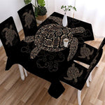 Nappe de Table Tortue Minimalisme