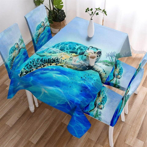Nappe de Table Tortue Pacifique