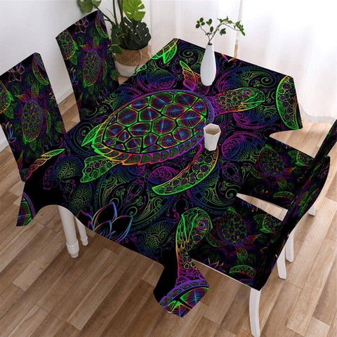 Nappe de Table Tortue Vision