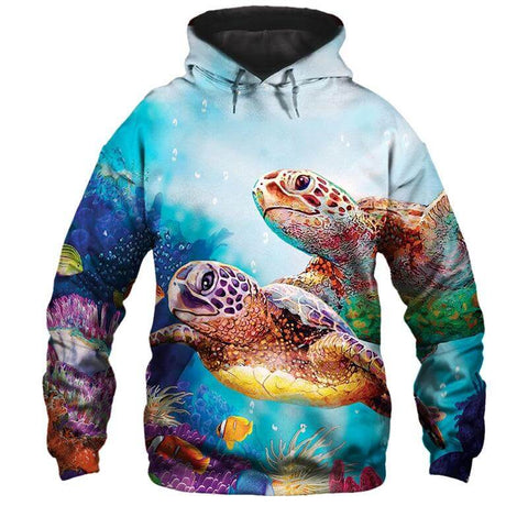 Sweat Shirt Tortue Tortuesque