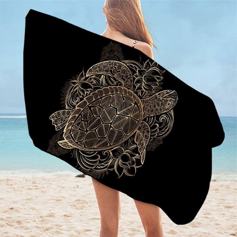 Serviette de Plage Tortue Association