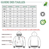 Guide des Tailles Pull Sweat shirt Fun