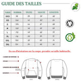 Guide des Tailles Pull Sweat shirt Caractère