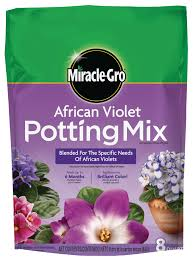 Miracle Gro African Violet Potting Mix - 8 QT