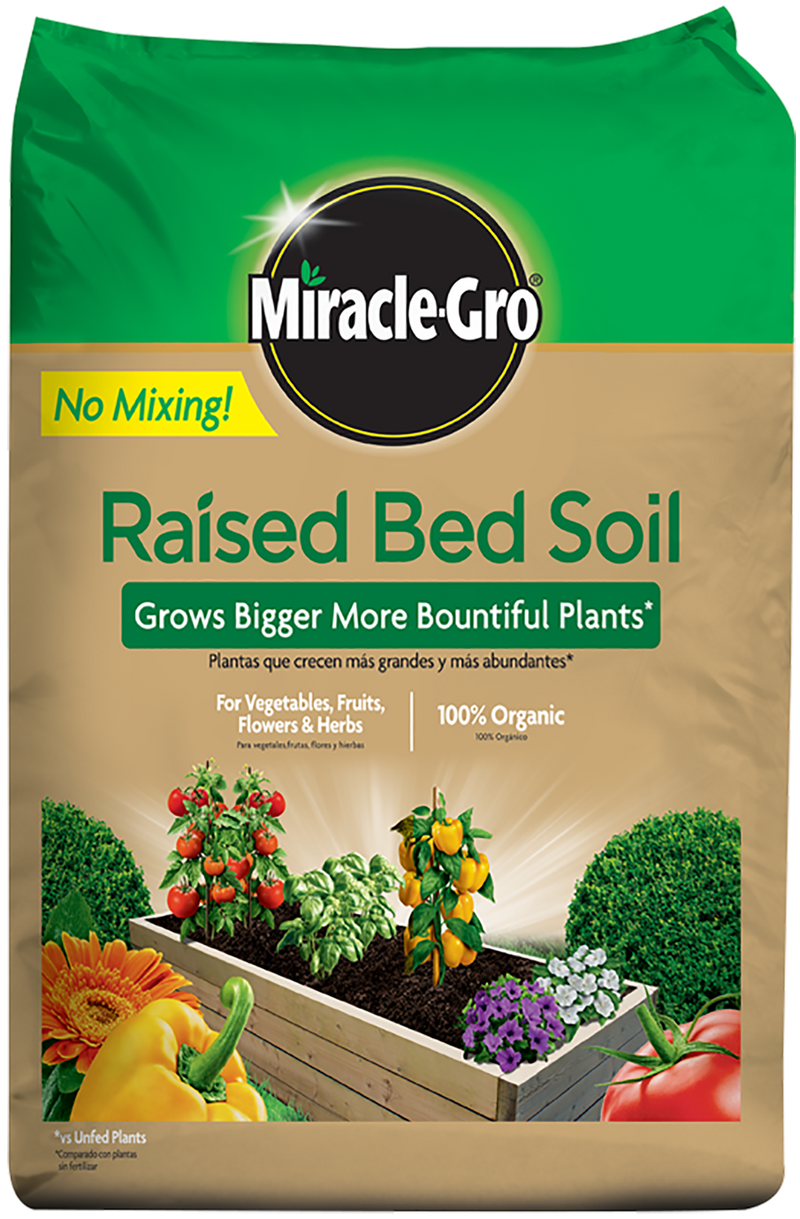 Miracle Gro Raised Bed Soil - 1.5 Cubic Foot