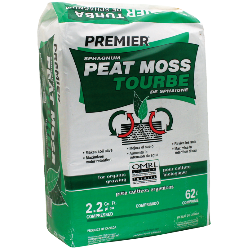 Peat Moss - 2.2 Cubic Foot
