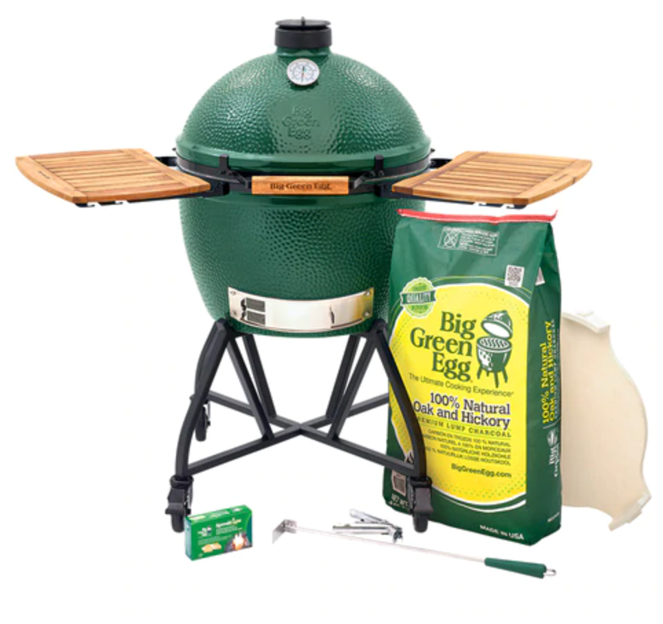 XL Big Green EGG Nest+ Acacia Mates Package