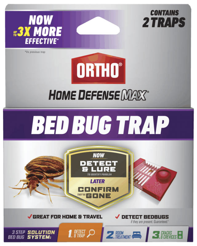 Ortho Home Defense Bed Bug Trap - 2 Pack