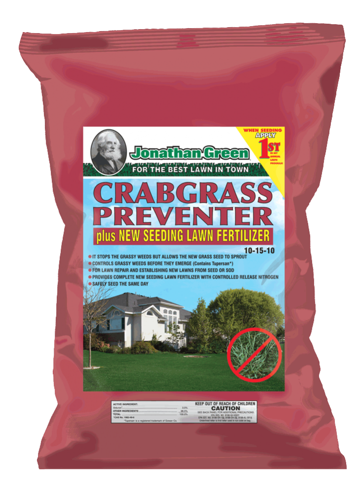 Crabgrass Preventer and Lawn Fertilizer