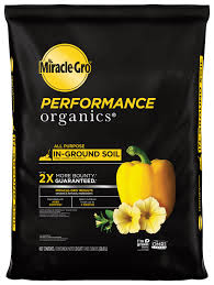 Miracle Gro Performace Organics In-Ground Soil - 1.33 Cubic Foot