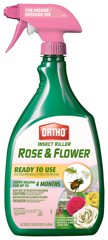 Ortho Insect Killer Rose and Flower