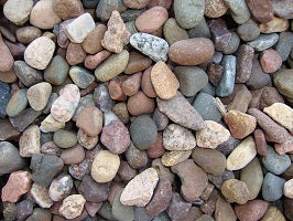 River Rock Large - 0.5 Cubic Foot