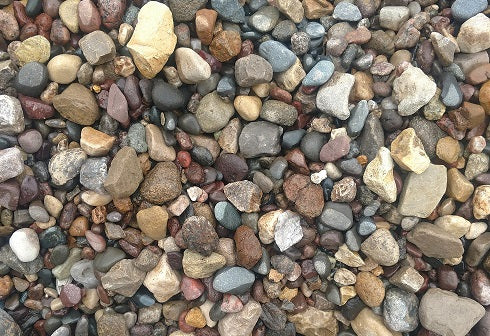 River Rock Small - 0.5 Cubic Foot