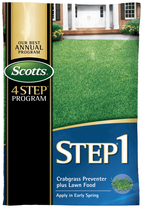 Scotts Lawn Care 4 Step Program