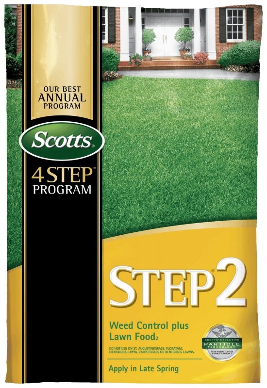 Scotts Lawn Care Step 2 - Weed Control Plus Lawn Food