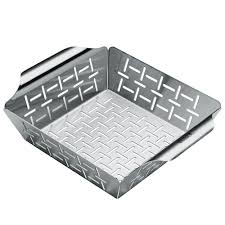 Weber Deluxe Small Stainless Steel Vegetable Grilling Basket