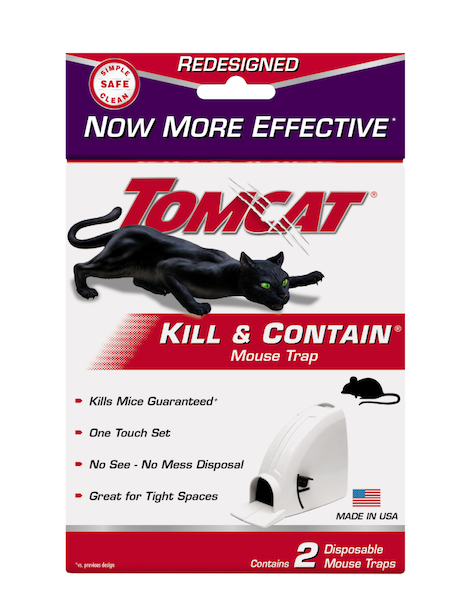 Tomcat Kill & Contain Mouse Trap - 2 Pack