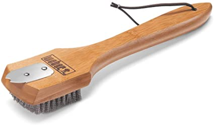 Weber 12'' Bamboo Grill Brush