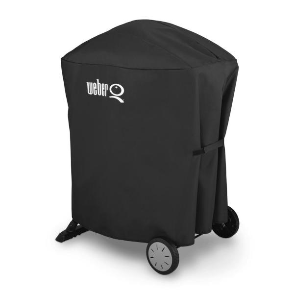 Weber Q Grill Cover with Rolling Cart