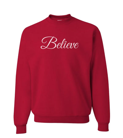 Believe - Crewneck
