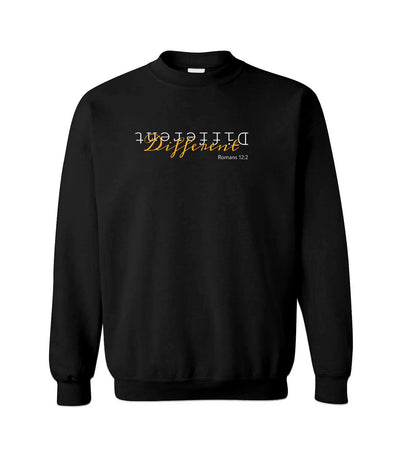 Different - Romans 12:2 - Crewneck