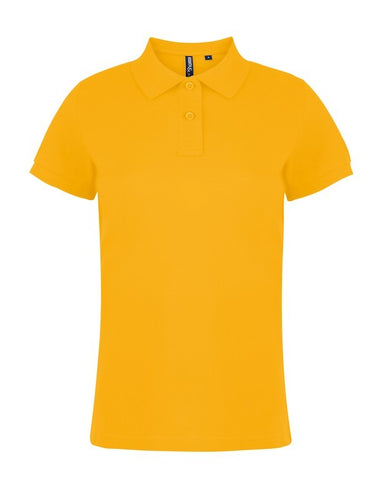 Ladies Cotton Polo Shirt (PF020 (AQ020)) - Sunflower