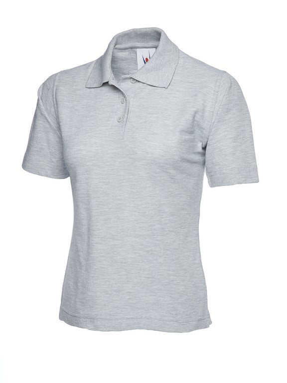 Ladies Classic Polo Shirt (PF80 (UC106)) - Heather Grey