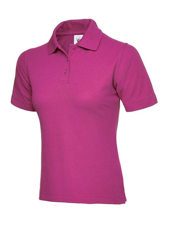 Ladies Classic Polo Shirt (PF80 (UC106)) - Hot Pink