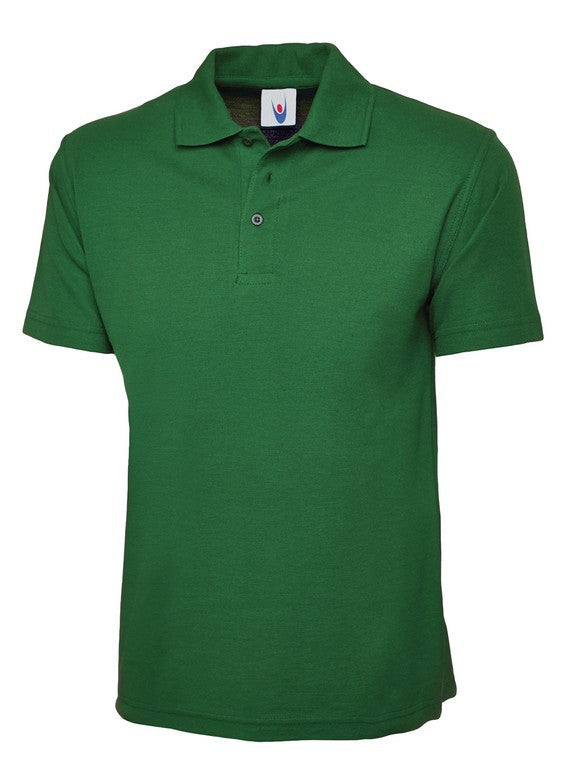 Unisex Classic Polo Shirt (P81 (UC101)) - Kelly Green