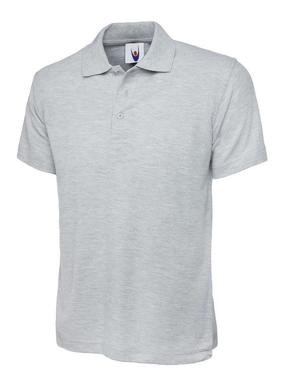Unisex Classic Polo Shirt (P81 (UC101)) - Heather Grey
