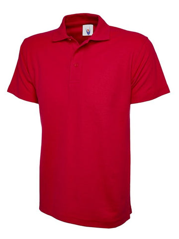 Unisex Classic Polo Shirt (P81 (UC101)) - Red