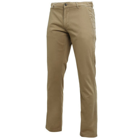 Men's Classic Cotton Chino's (TM050 (AQ050)) - Khaki