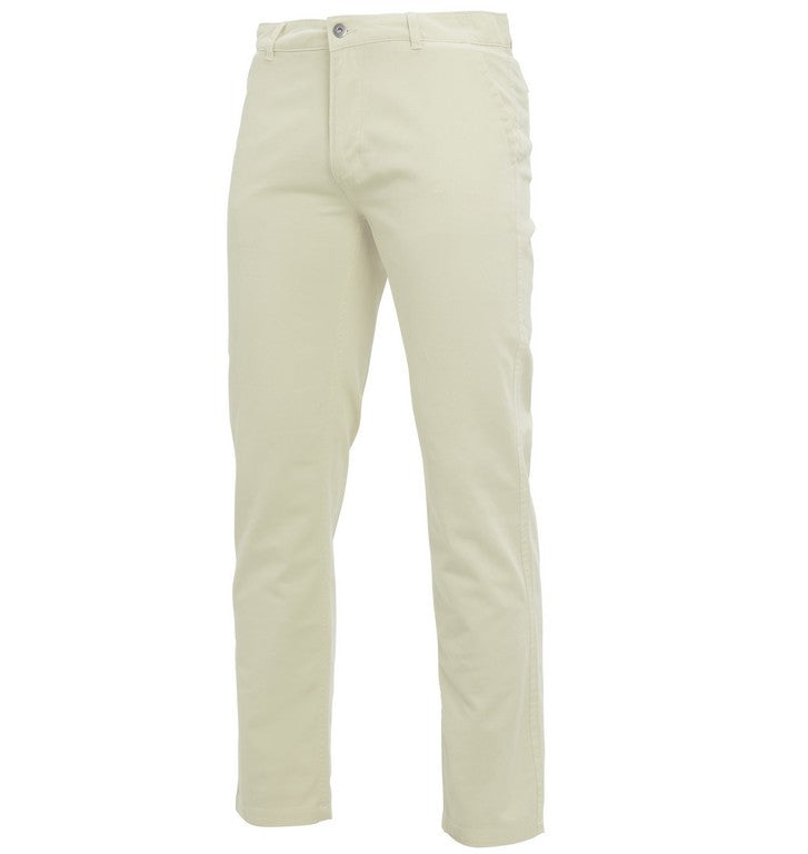 Men's Classic Cotton Chino's (TM050 (AQ050)) - Natural