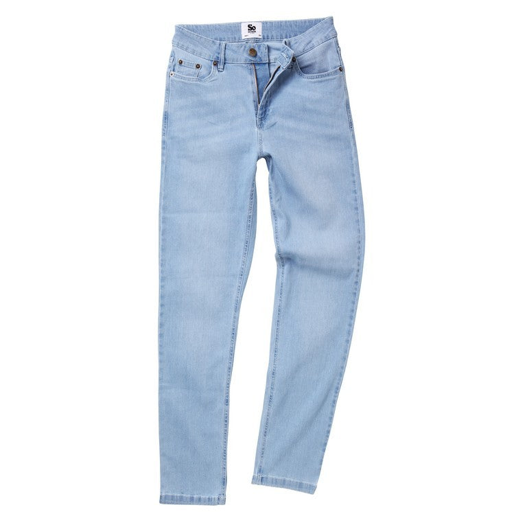 Ladies Straight Fit Jeans, (TF011 (SD011))
