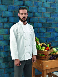 Unisex Press Stud Chefs Jacket (J193 (PR664))