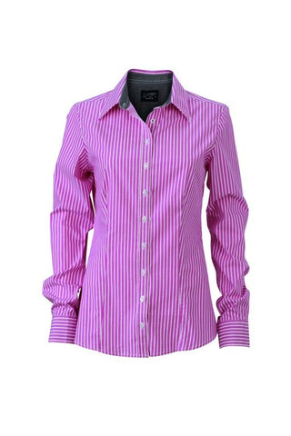 Ladies Contrast Stripe Blouse