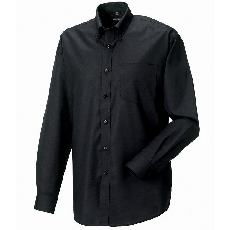 S167 Men's Long Sleeve Oxford Shirt (932M)