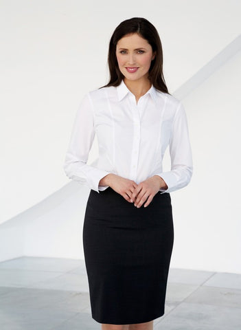 Palena Ladies Semi Fitted  Blouse (B180)
