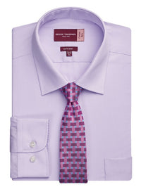 Rapino Men's Classic Fit  Single Cuff Shirt (S171)