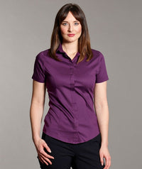 Ladies Stretch Blouse  Short Sleeve (B110 Orla)