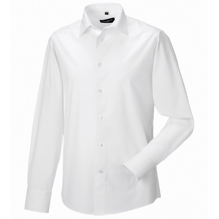 S193 Men's Long Sleeve  Stretch Shirt (J946M)