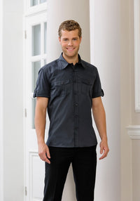 S123 Men's Roll Sleeve Shirt (J919M)