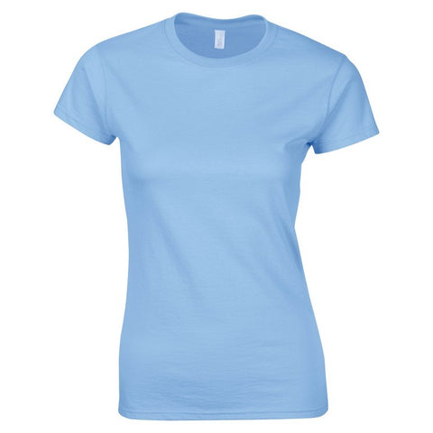 Softstyle Ladies T-Shirt (TS072 (GD072)) - Light Blue